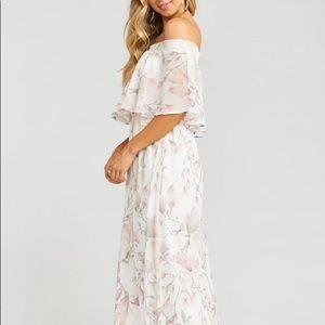 Show me your Mumu Hacienda Maxi bridesmaid dress